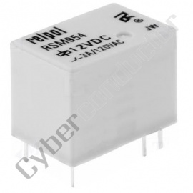 Rele PCB 6VDC/3A 1C , mod: RSM954-0111-85-1006, marca Relpol
