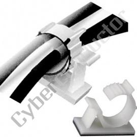 Fixa Cabos 2,5x10,5mm c/ adesivo (MMP006)