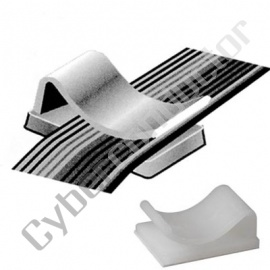 Fixa Cabo plano 40 Condutores c/ adesivo (MMP014)