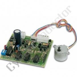 Kit didáctico placa controlo p/ motor passo a passo Mod.:K8005