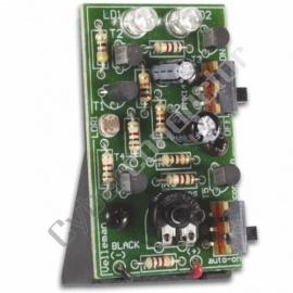 Kit didáctico luz intermitente c/ 2 Leds vermelhos Modelo: MK148