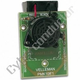 Kit didáctico detecção de água com alarme sonoro Modelo MK108