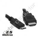 Cabo HDMI macho / Mini HDMI macho