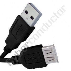 Cabo USB 2.0 A / A