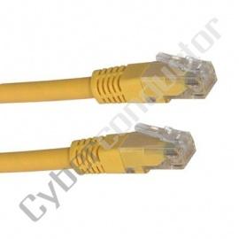 Cabo Cat.5 LSZH 1Mts. Amarelo MC-5-100-1AM