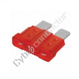 Fusível Automóvel 10A Vermelho - AFU10
