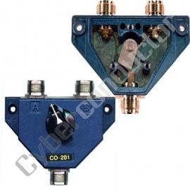 Comutador de 2 Antenas c/ ficha UHF CO-201
