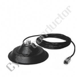 Base magnética para antena 140mm