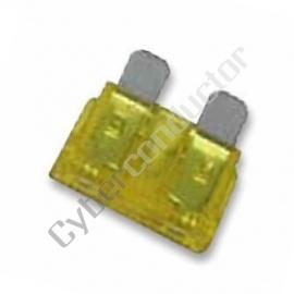 Fusível Automóvel 20A Amarelo - AFU20
