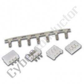 Conector multipolar conj PCB M/F 1x2 - BTWS1X2