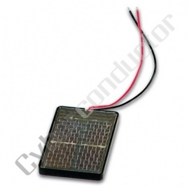 Celula solar 0.5v/800mA 66x95x6mm - (SOL2)
