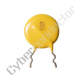 Varistor 7mm 150V 5A BC Components