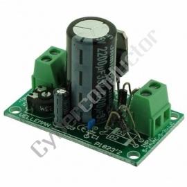 Kit PCB módulo de alimentação de 1.2 a 30Vdc 1A - Modelo VM124