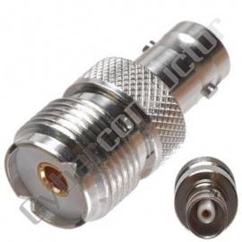 Adaptador BNC Fêmea / UHF Fêmea 04-044