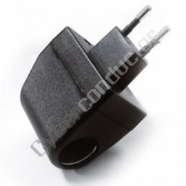 Adaptador 230VAC/12VDC tipo  isqueiro 650 mA, Mod.RG1004