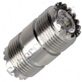 Adaptador UHF (F/F) (PL258)