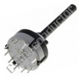 Comutador Rotativo 4 circuitos, 3 Posições Mod. CR43SM