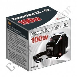 CONVERSOR 110V/220V - 220V/110V 100W