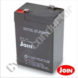 Bateria Ácida 6V 4,5Ah/20HR