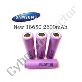 Bateria Li-Ion 3.7v 2600mAh Samsung