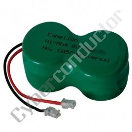 Bateria Recarregável NiCd p/ telf s/ fios 4.8v-280mAh T3003C
