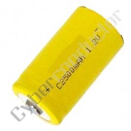 Bateria Recarregável NiCd 1.2V-1.3Ah LR14