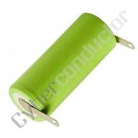 Bateria Recarregável NiCd 1.2V-1000mAh C/Patilhas