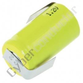 Bateria Recarregável LR20 NiCd 1.2V-4500mAh C/Patilhas