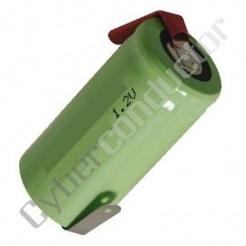 Bateria Recarregável NiCd 1.24V-1700mAh LR14 C/Patilhas
