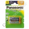 Bateria Recarregável Panasonic P-6P/2B 1.2V 2100mAh