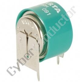 Bateria Recarregável NiMH 2.4V/70mAh 2/V80HSL