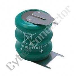 Bateria Recarregável NiMH 3.6V/70mAh