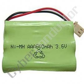 Bateria Recarregável NiMH 3.6V/600mAh