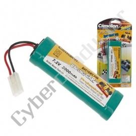 Bateria Recarregável NiMH racing pack 7.2V-3000mAh
