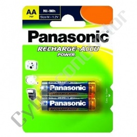 Bateria Recarregável NiMH Panasonic 1.2V AA 800mAh
