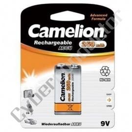 Blister 1 6F22/9V NIMH 250mAh Camelion