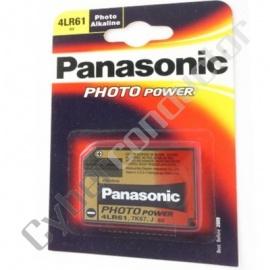 Pilha Alkalina Panasonic 4LR61 6V