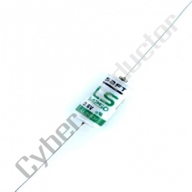 Pilha Lítio Saft 3.6v LS14250CNA c/ pinos axiais