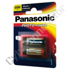 Pilha Litio Panasonic 2CR-5MEP/1B 6V