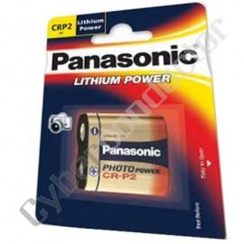Pilha Lítio Panasonic CR-P2P 6V F.P.