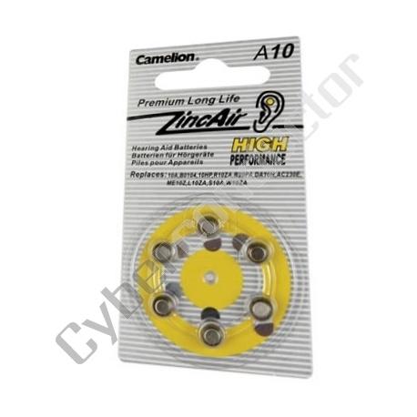 Pilha Zinco Ar 1.4V (6pcs/bl) - (V10RC)