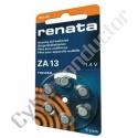 Pilha Zinco Ar 1.4V ZA13 Renata (6pcs/bl)
