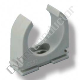 Abraçadeira para tubo rígido ou flexível, cor cinzenta M20 livre de halogenio Mod. ALH-M20