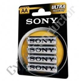Pilhas R6/AA Sony Ultra (4pcs/bl)