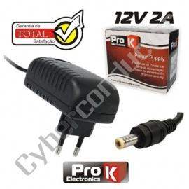 Alimentador Comutado 12V 2A ProK