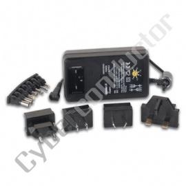 Alimentador de saida seleccionavel 3 a 12VDC 24W (PSSMV3)