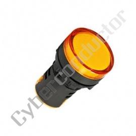 Sinalizador plastico compacto MULTILED Amarelo ND16-A/230V