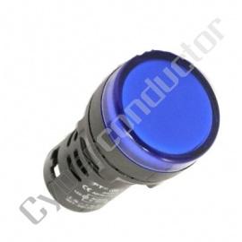 Sinalizador plastico compacto MULTILED Azul ND16-Z/230V