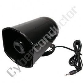 Altifalante Exponencial preto 15W 8Ohm (MR-508)