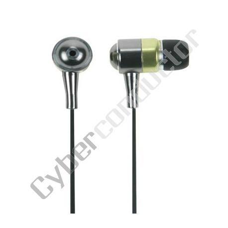 Auricular intrauditivo corpo de metal c/ ficha 3.5mm (HPE6)